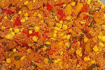 Couscous-Salat, lecker würzig 130
