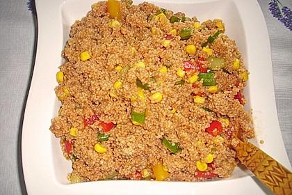 Couscous-Salat, lecker würzig 98