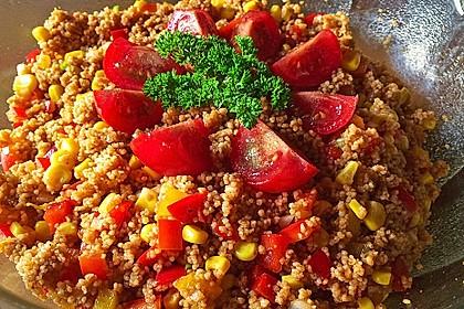 Couscous-Salat, lecker würzig 73