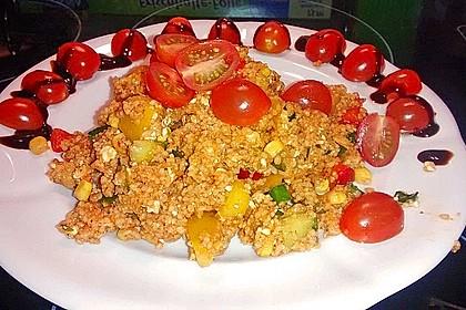 Couscous-Salat, lecker würzig 72