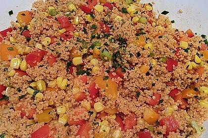 Couscous-Salat, lecker würzig 109