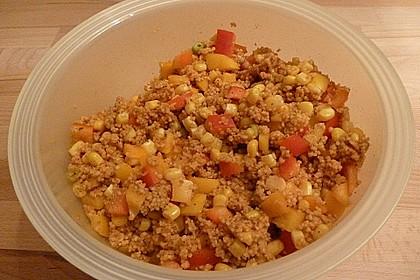 Couscous-Salat, lecker würzig 123