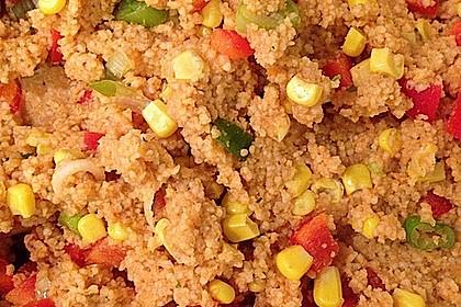 Couscous-Salat, lecker würzig 74