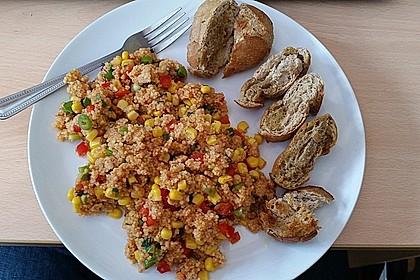 Couscous-Salat, lecker würzig 77