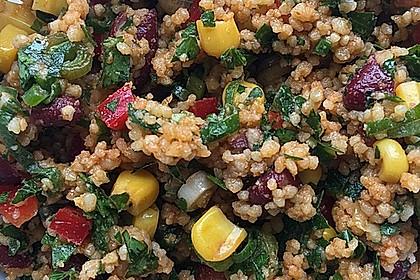 Couscous-Salat, lecker würzig 23