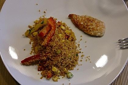Couscous-Salat, lecker würzig 147