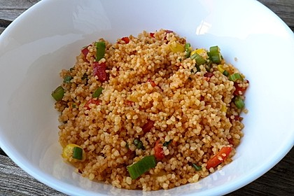 Couscous-Salat, lecker würzig 30