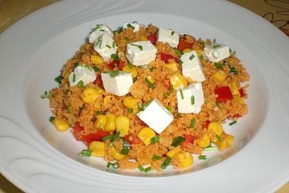 Couscous-Salat, lecker würzig 36