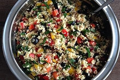 Couscous-Salat, lecker würzig 141