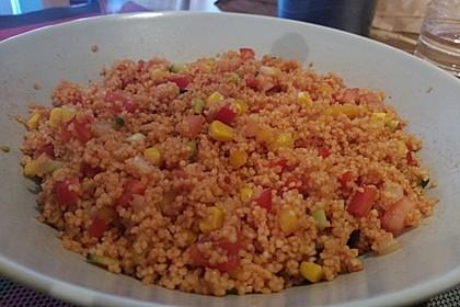 Couscous-Salat lecker würzig 71