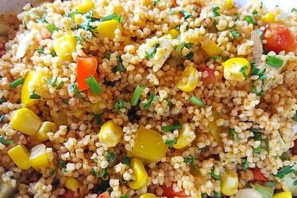 Couscous-Salat lecker würzig 18
