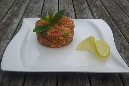 Couscous-Salat lecker würzig 20