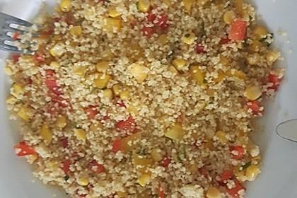 Couscous-Salat, lecker würzig 150