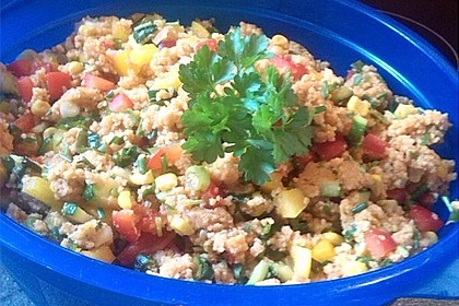 Couscous-Salat, lecker würzig 119