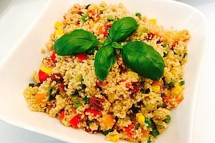 Couscous-Salat, lecker würzig 6