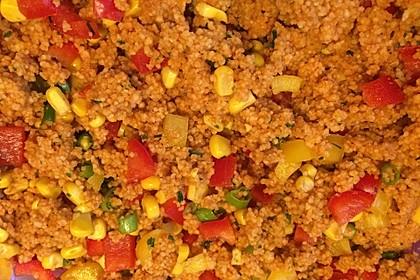 Couscous-Salat, lecker würzig 136
