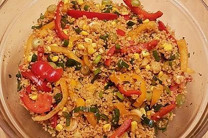 Couscous-Salat lecker würzig 75
