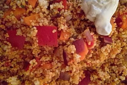 Couscous-Salat, lecker würzig 90