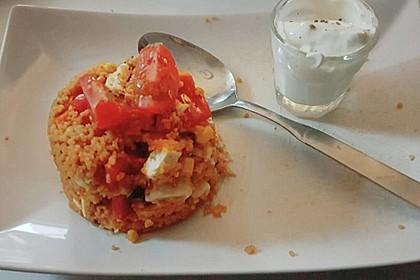 Couscous-Salat, lecker würzig 154