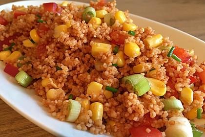 Couscous-Salat lecker würzig 24