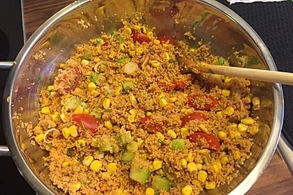 Couscous-Salat lecker würzig 104