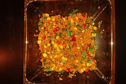 Couscous-Salat lecker würzig 126