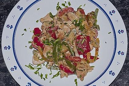Leckere Kartoffel - Hähnchen - Pfanne 7