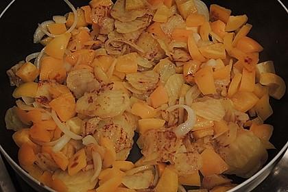 Leckere Kartoffel - Hähnchen - Pfanne 6