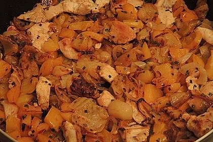 Leckere Kartoffel - Hähnchen - Pfanne 5