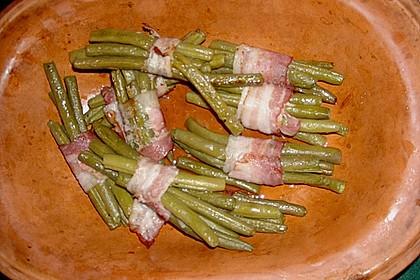 Grüne Bohnen im Speckmantel 44