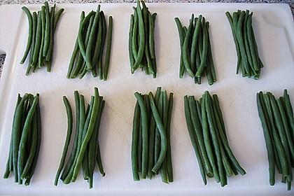 Grüne Bohnen im Speckmantel 55