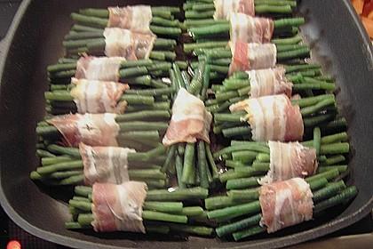 Grüne Bohnen im Speckmantel 59