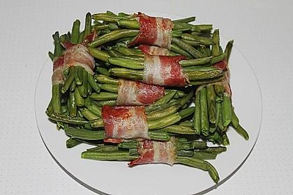 Grüne Bohnen im Speckmantel 7