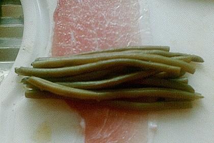 Grüne Bohnen im Speckmantel 64