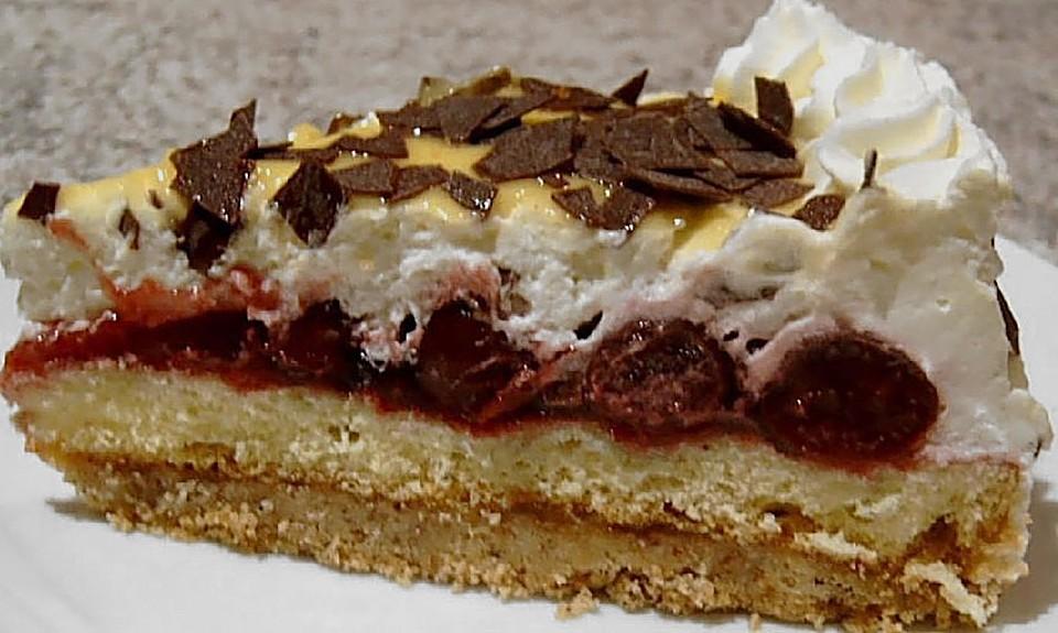 Torte aus biskuit