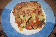 Meckis würzige Kartoffel - Lasagne mit Fisch und Spinat