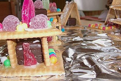 Hexenhaus aus Butterkeksen 90