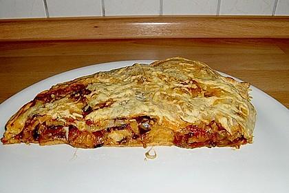 Auberginen - Calzone 2