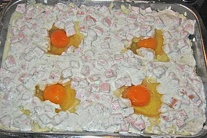 Überbackenes Kartoffelpüree 1