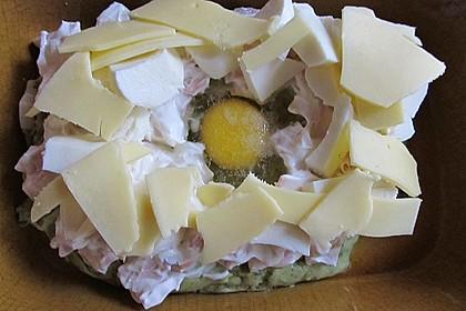 Überbackenes Kartoffelpüree 5