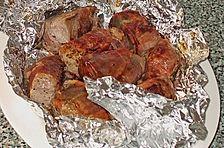 Schweinefilet im San Daniele Mantel