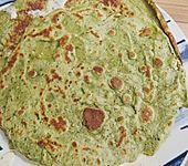 Bärlauch - Pfannkuchen mit Spargel - Schinkenfüllung (Bild)