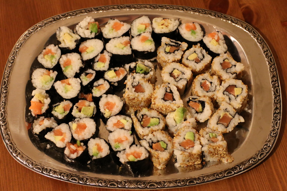 California Rolls inside - out von Tanit | Chefkoch.de