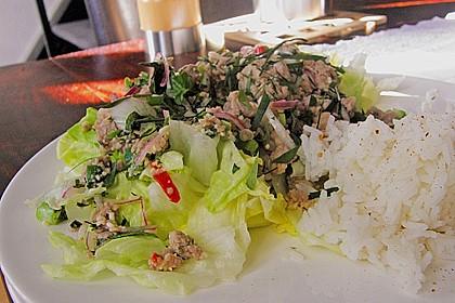 Thailändischer Schweinehackfleischsalat 6