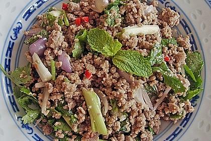 Thailändischer Schweinehackfleischsalat 1