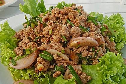 Thailändischer Schweinehackfleischsalat 0