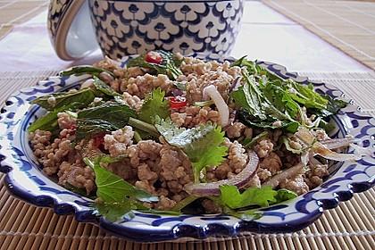 Thailändischer Schweinehackfleischsalat 2