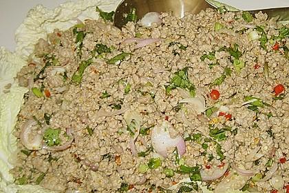 Thailändischer Schweinehackfleischsalat 8