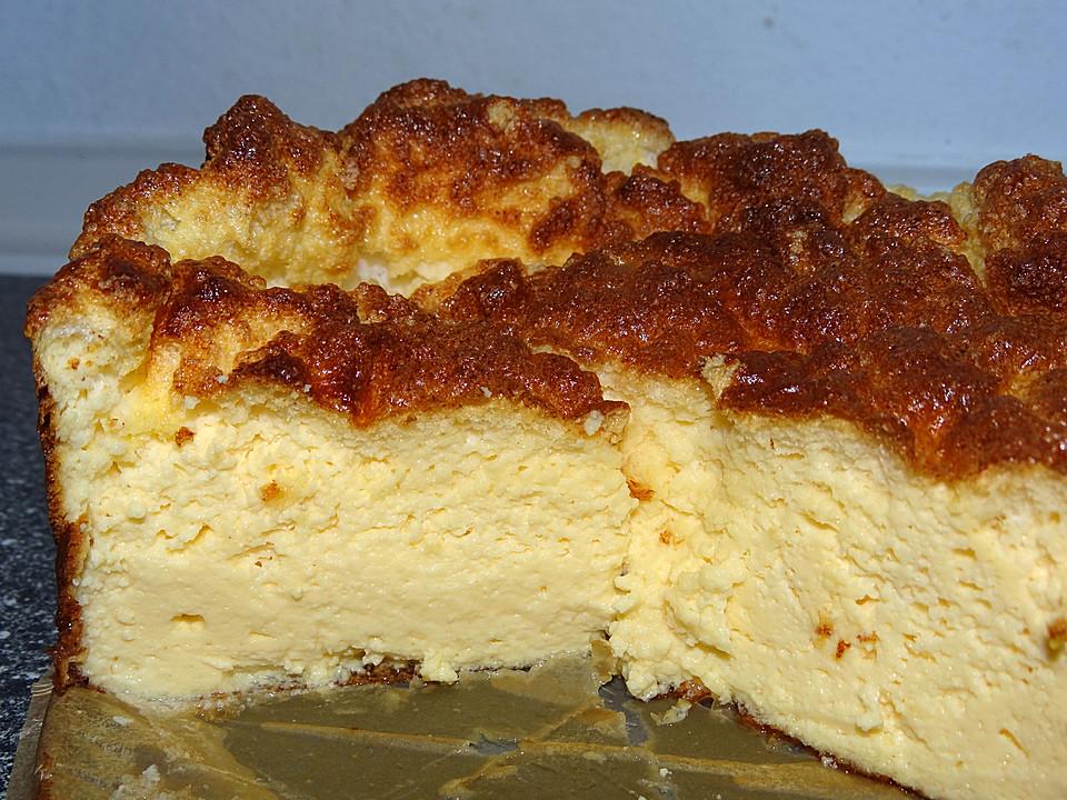 Quark kuchen low carb