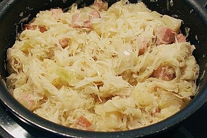 Sauerkraut mit Kassler 19